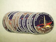 Lot of 10 NASA Space Shuttle Mission STS-26 Discovery Astronauts Iron On Patch