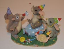 Charming Tails Party Animals Figurine Fitz and Floyd 89/101