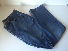 Da Uomo Levi Levis Strauss 501 Blu Denim Bottone Jeans Taglia W34 L36