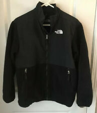 The North Face Denali Jacket Youth Girls Black Coat Fleece Size Xl Euc