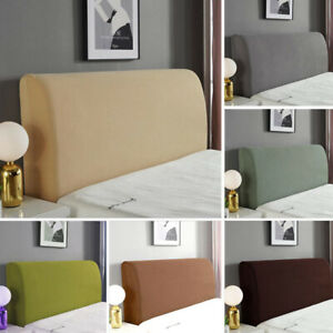 Stretch Headboard Cover Slipcover Bed Head Bedroom Covers Slipcover Protector