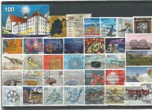Neuheitenlot Schweiz 1 oo (Sonder + Dauermarken 2010 - 2020); 35 Stück