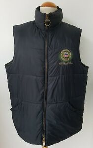 Mens Barbour  Polo Club Regimental Quilted Gillet Size XXL