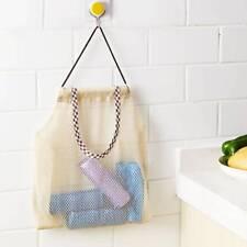 Fruit Vegetable Garlic Hanging Bag Reusable Mesh Bag Kitchen  Storage Bag T