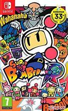 Super Bomberman R NUEVO PRECINTADO CASTELLANO Switch ESPAÑOL