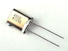 25x  4.5Mhz Crystal - 4500Khz - NOS