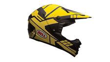 Bell Helmets MX 2015 Sx-1 Casco da Motocross adulto L Gris/amarillo (y2w)