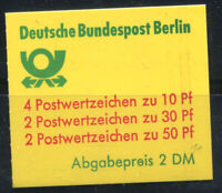 Berlino 1977 Mi. MH 11 Libretto 100% Nuovo ** castelli