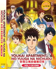 ANIME DVD Youkai Apartment no Yuuga na Nichijou Vol.1-26 End Eng Subs+FREE DVD
