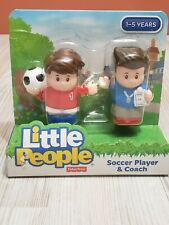 Fisher Price Little People Soccer Player & Coach Bring them to town. New