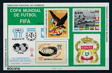 [60749] Bolivia 1980 World Cup Soccer Football Bird MNH Sheet