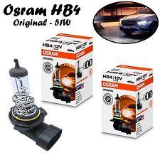 2x Osram HB4 51W 12V P22d 9006 Klar Weiß Auto Scheinwerfer Licht Birne E-geprüft