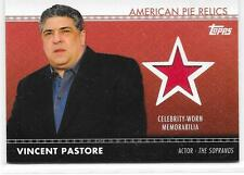 2011 TOPPS AMERICAN PIE VINCENT PASTORE SOPRANOS RELICS CELEBRITY WORN