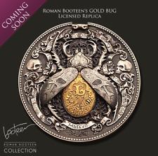 Golden Bug Roman Booteen's coin - Hobo Nickel Morgan Dollar & 1/10 gold