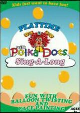 Playtime with Polka-Dots: Sing-A-Long (2006, DVD NEUF) (RÉGION 1)