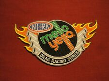NHRA MELLO YELLO DRAG RACING SERIES (flames) vintage racing patch