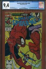 1991 THE AMAZING SPIDERMAN #345 CGC 9.4 WHITE PAGES BRAND NEW CASE LOOK