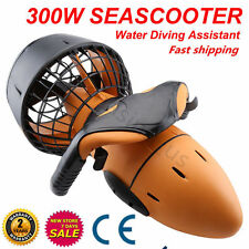 Underwater Sea-Scooter Pro 300W Electric Waterproof Dual Speed SafetyProp/6kmh s