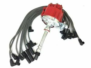 Electric Distributor With Wire Set For Chevy Camaro GMC Pontiac Buick (173+473)