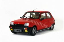 Renault 5 Alpine Turbo red rouge OT605 Otto Mobile 1:18