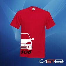 Camiseta coche racing rally gti GT basado peugeot 106 xs 1.6 16v  ENVIO 24/48h