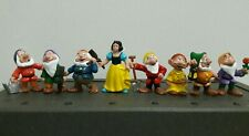 Vintage The Walt Disney Snow White & 7 Dwarfs figure
