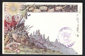 72° REGGIMENTO FANTERIA - Cartolina formato piccolo viaggiata - 1903