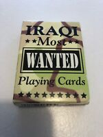 Iraqi Most Wanted Playing Cards Deck Complete