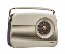 TEAC PR200DAB Retro DAB AM/FM Radio - White