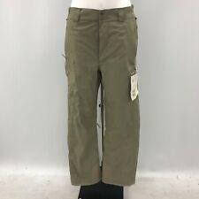 New Helly Hanson Trousers UK Med Green Straight Leg Waterproof Ladies 280133