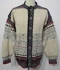 Herren-Pullover mit mittlerer Strickart und Knöpfen Norweger