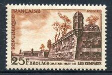 STAMP / TIMBRE FRANCE NEUF N° 1042 ** SITE TOURISTIQUE REMPARTS DE BROUAGE