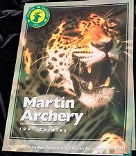 Martin Archery Catalog 1997 Compound & Recurve Bows & Accessories