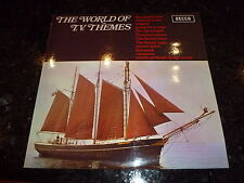 The World Of T.V. Themes - 1972 UK 12-track stereo LP