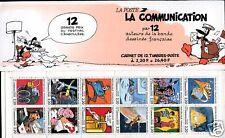 CARNET NEUF NON PLIE 1988 LA COMMUNICATION PROMOTION !