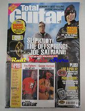 TOTAL GUITAR Magazine 106 2003 +CD Slipknot The Offspring Joe Satriani The Clash
