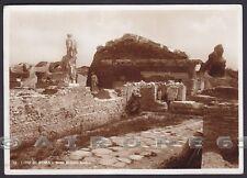 ROMA LIDO 173 OSTIA Cartolina FOTOGRAFICA viaggiata 1943