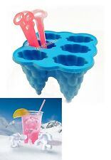 Fábrica de hielo helado fabricantes de silicona moldes de hielo Pop Moldes