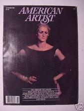 AMERICAN ARTIST October 1981 JOHN COURT WILLIAM DUNLAP