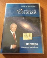 PIERO ANGELA - VIAGGIO NELLA SCIENZA L' UNIVERSO  DOCUMENTARIO DVD