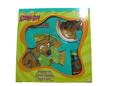 Scooby-Doo 4-Piece Dinnerware Set Brand New