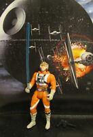 1995  Kenner Star Wars POTF 2 Luke Skywalker X-Wing Long Saber Complete Figure