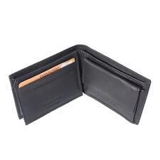 Portefeuilles , porte cartes Fait de véritable artisanat en cuir italie PF09 bk