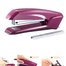 Bostitch Ascend 3 In 1 Stapler With Integrated Remover Amp Staple Storage Purple