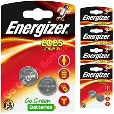 Energizer Lithium-Based CR2025 Single Use Batteries