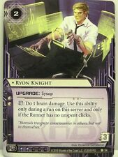 Android netrunner LCG - 1x ryon Knight #054 - Chrome City