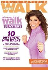 NEW!!! Leslie Sansone: Just Walk - Mix  Match Walk Blasters (DVD, 2014)