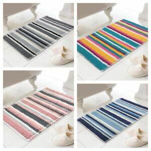 COUNTRY CLUB Micro Bobble Stripe Design Bath Mats