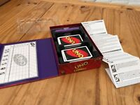 UNO Deluxe Game - Mattel 2007 - Excellent Condition! Turkish Edition