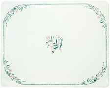 Corelle 20 X 16 Rosemarie Counter Saver Tempered Glass Cutting Board 92016vlth